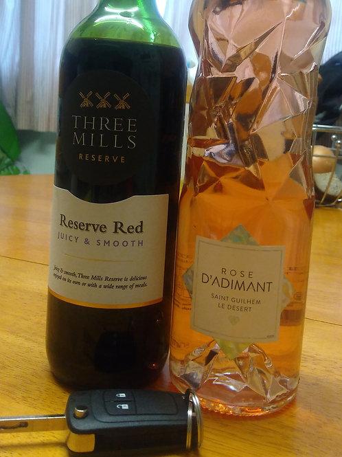 Get both Reserve Red and St Guilhem Rosé