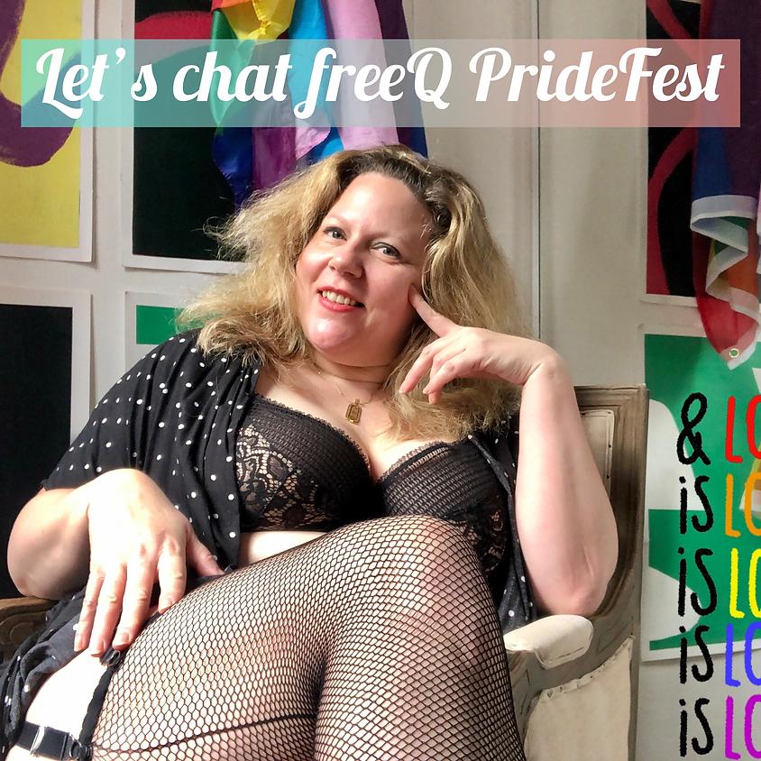 freeQ show with Sarah Massey talking PrideFest