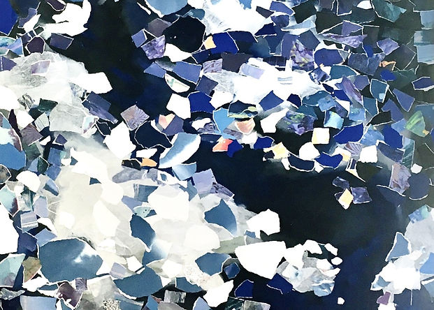 """Paper Sea 36""""X39"""".jpg"""