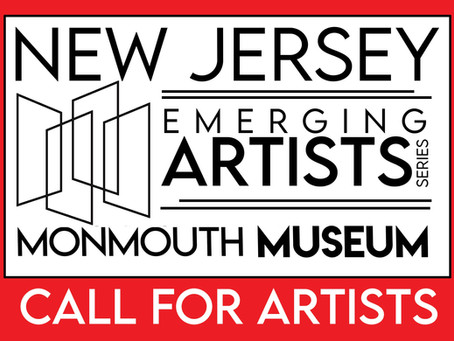 Call for Artists! Extended to August 31st: NJ Emerging Artists Series