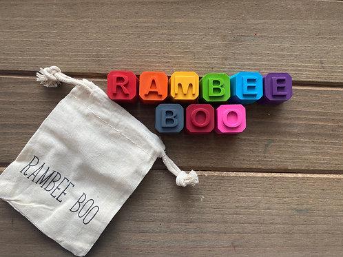 RAMBEE BOO MINI CRAYONS