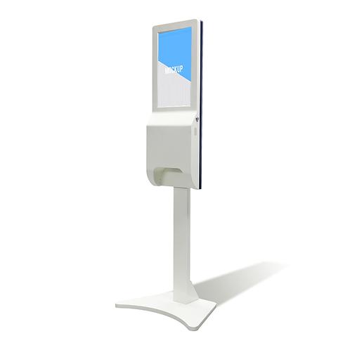 Auto-Hand Sanitizer Kiosk with Digital Display