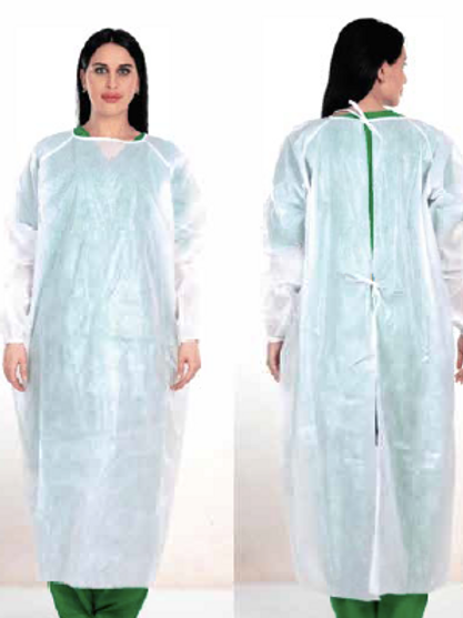 Disposable Isolation Gown - Level 3 (PP+PE Laminate)