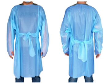 Disposable Isolation Gown - Level 3 (PE)