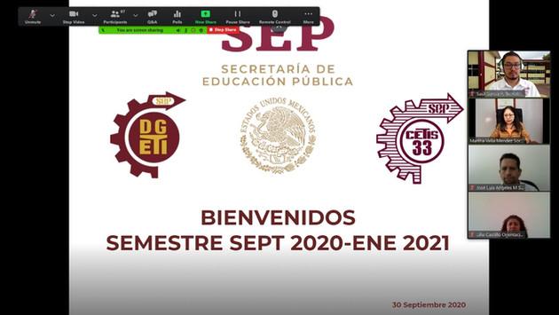Bienvenida al Ciclo Escolar 2020-2021
