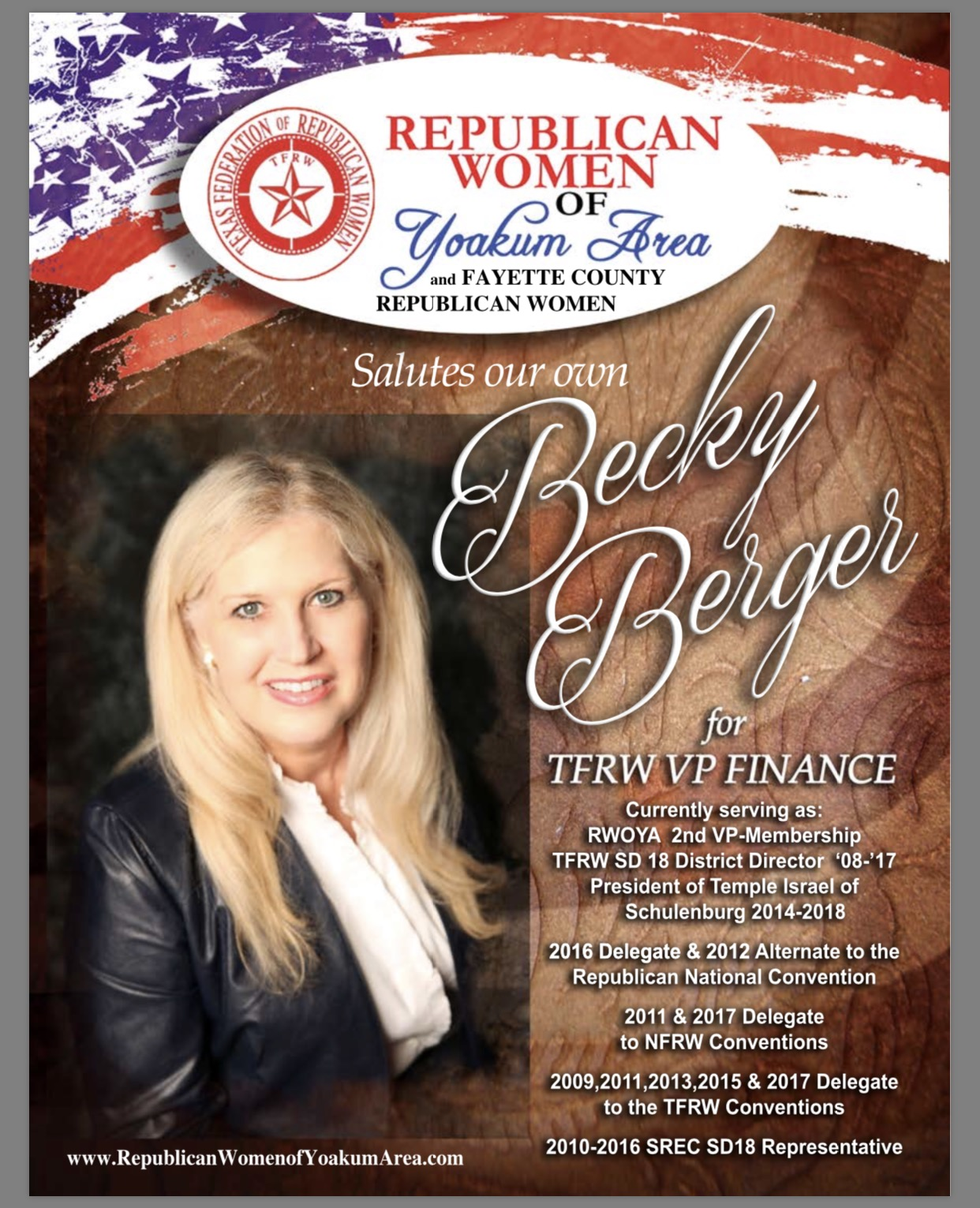 Becky Berger VP Finance TFRW jpg