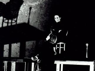 1995 Deborah Warner & Fiona Shaw in rehearsal for The Waste Land, Old Magazine Fort, Phoenix Park, Dublin