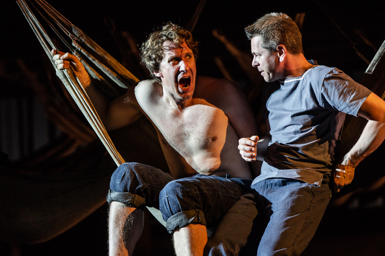 Jacques Imbrailo (Billy Budd) and Keith Jameson (The Novice)