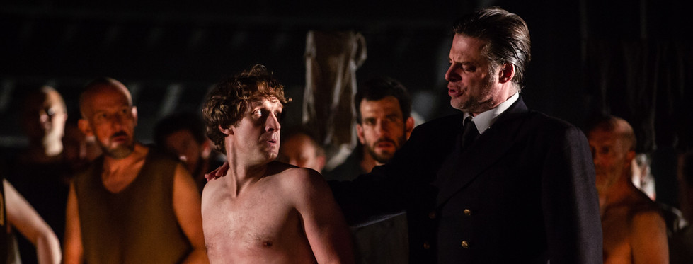 Jacques Imbrailo (Billy Budd) and John Relyea (Claggart)