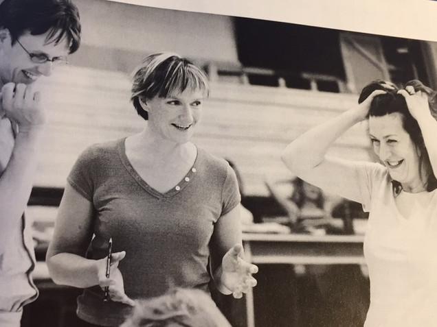 2004 Ian Bostridge, Deborah Warner, Sarah Connolly rehearsals for Rape of Lucretia