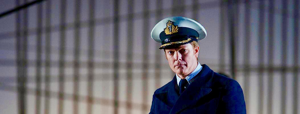 Toby Spence as Captain Vere