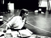 1989 Deborah Warner in rehearsal for The Good Person of Sichuan, NT
