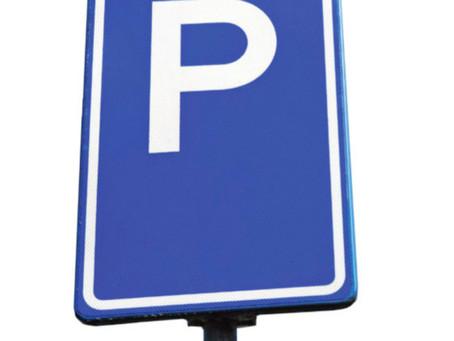 Parkeer afleidende gedachten