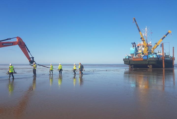 Irish Sea Contractors_Subsea Cable Insta