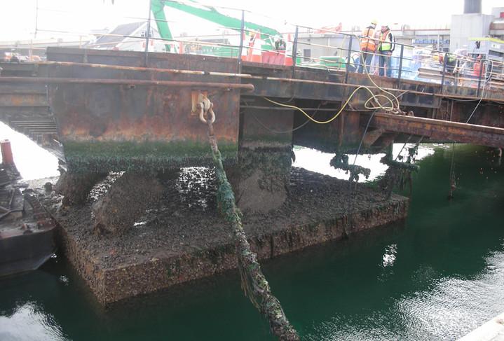 Irish Sea Contractors_Remove No2 Ramp in