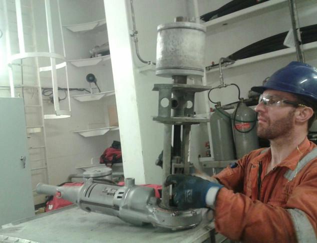Irish Sea Contractors_OIl & Gas welding