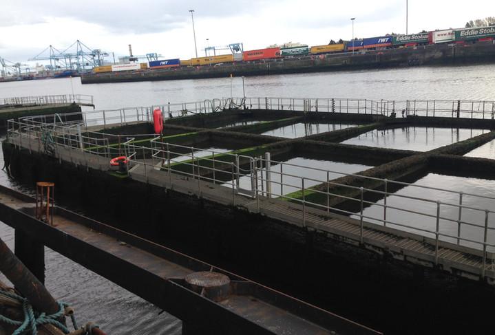 Irish Sea Contractors_Dublin Port works.