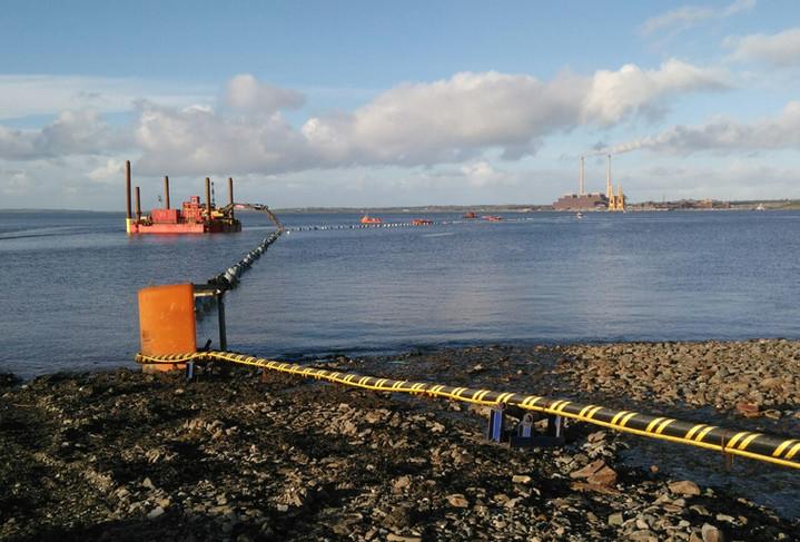 Irish Sea Contractors_subsea cable proje