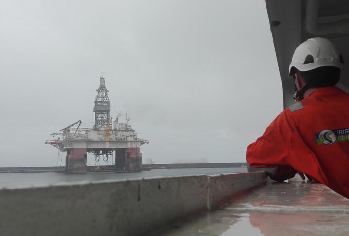 Irish Sea Contractors_Oil Rig welding se