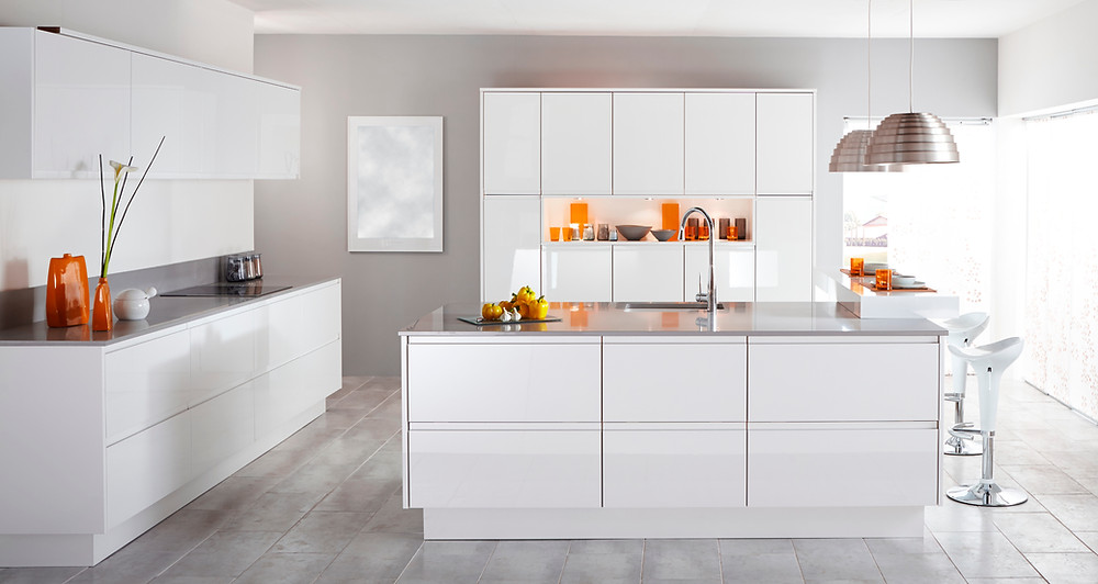 What are modular kitchen materials?