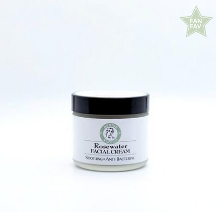 Rosewater Facial Cream  2oz