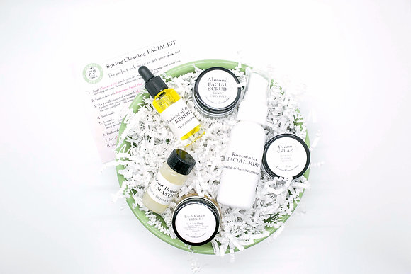 Spring Cleaning Facial Kit