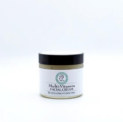 Multi-Vitamin Facial Cream  2oz