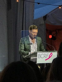 Ryan Seacrest hosts breast cancer research