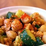ひよこ豆とくるみのトルコ風サラダ