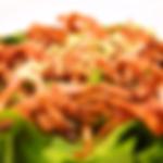 小松菜とベーコンのサラダ