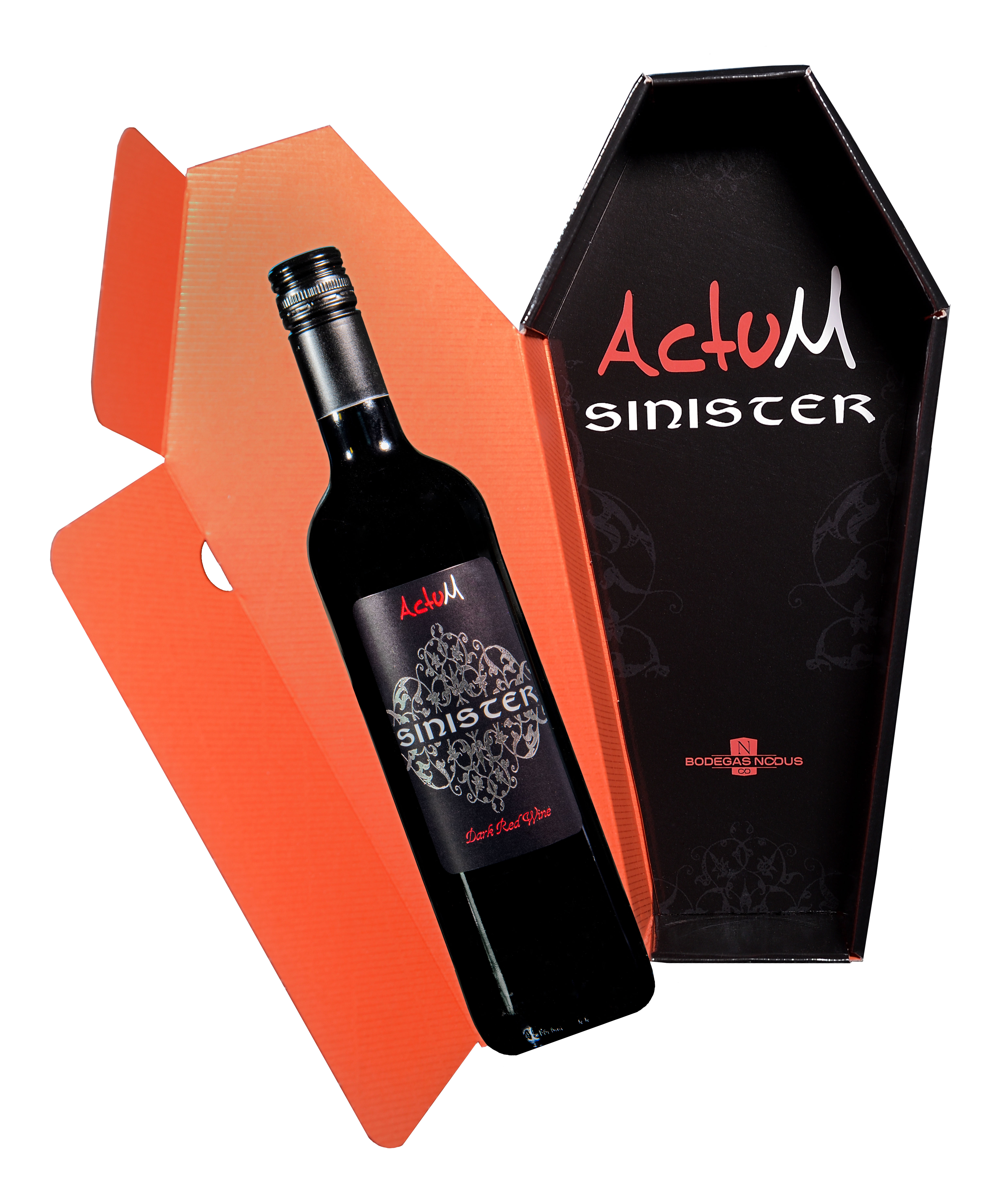 Actum Sinister (Dark Red Wine)
