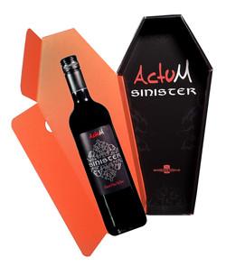 Actum Sinister (Dark Red Wine)