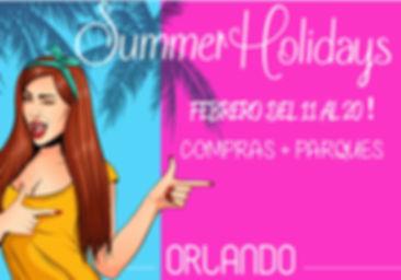 Viaje grupal Mujeres Orlando