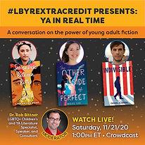 #LBYRExtraCredit - YA in Real Time IG.jp