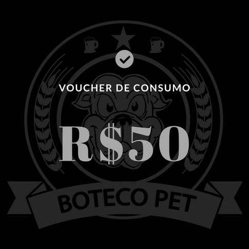 Voucher de consumo - R$50