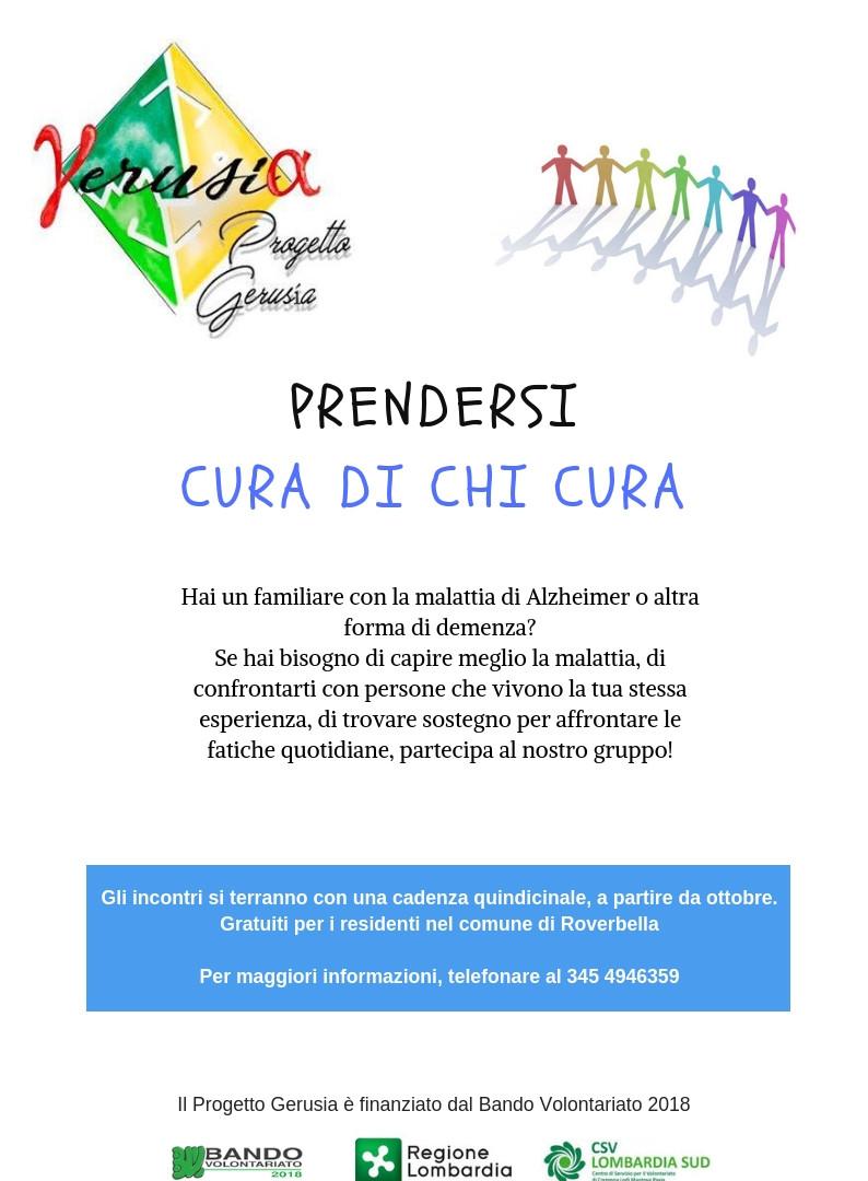 PRENDERSI CURA DI CHI CURA