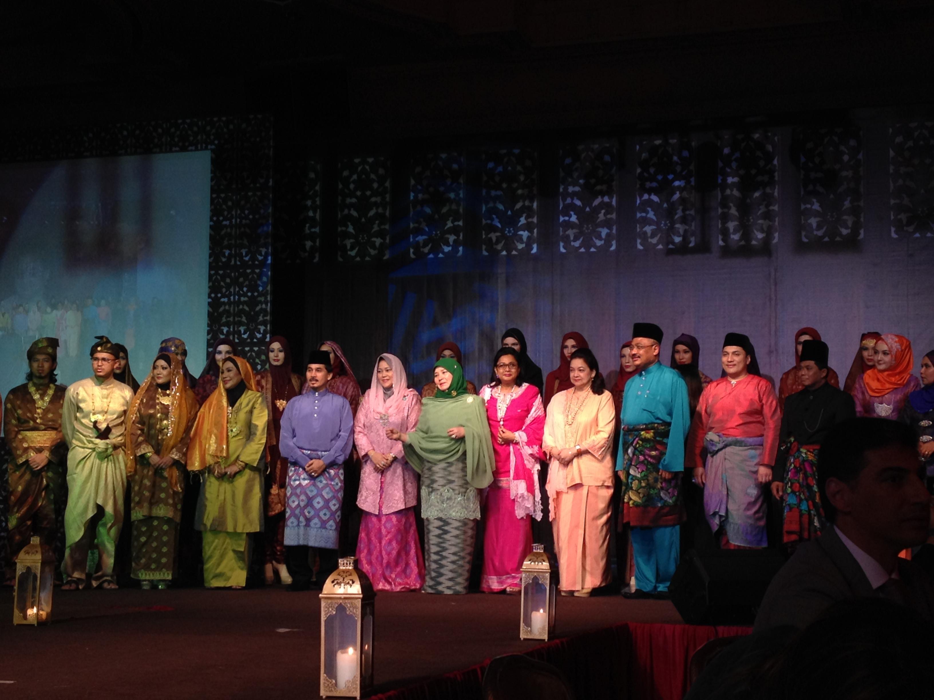 The 2014 Islamic fashion show