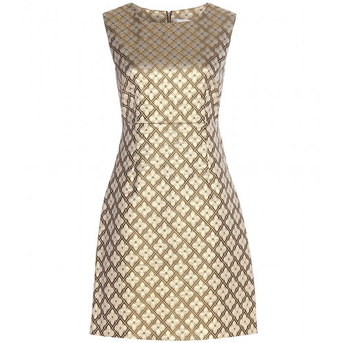 Diane von Furstenberg Carrie Two Sleeveless Cocktail Dress Size: 10 (M)