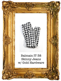 Balmain With Gold Hardware