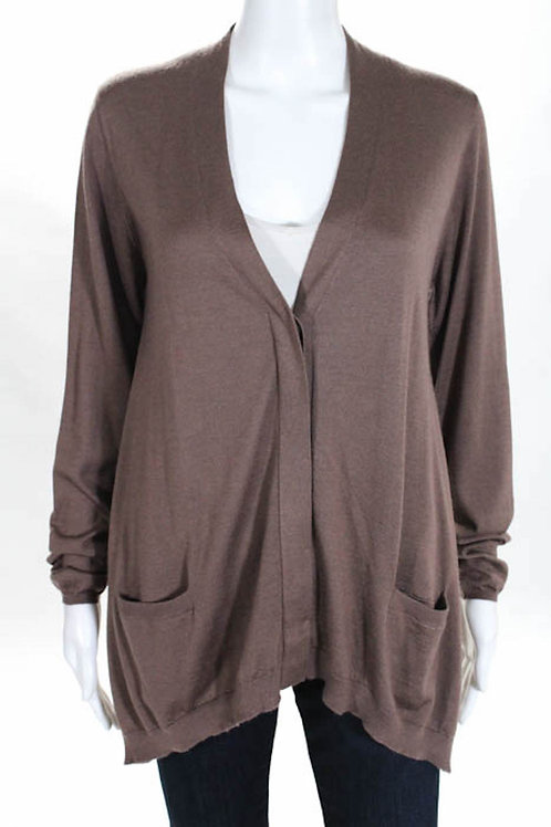 Brunello Cucinelli Nwt Trapeze Cardigan Sweater Large