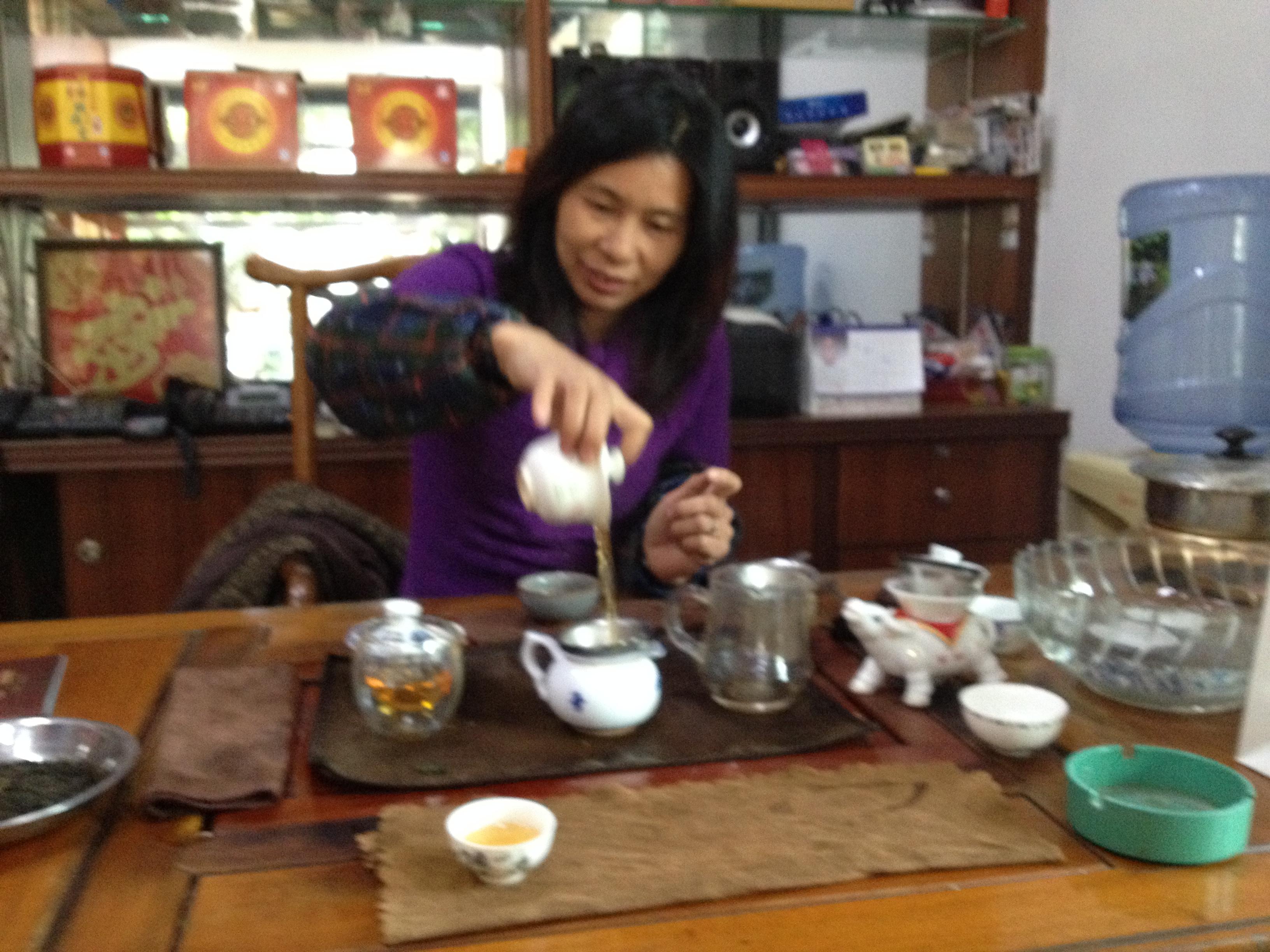 Guangzhou China Tea Market