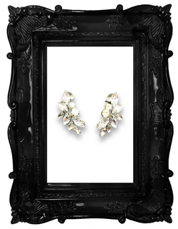 Sparkly Clip On Earrings