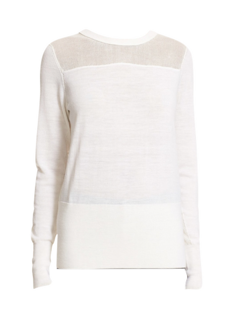 Rag & Bone & Long Sleeve Elana Large. Sweater
