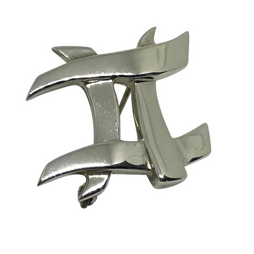TIFFANY & CO. - Frank Gehry Sterling 925 Pin/ Brooch