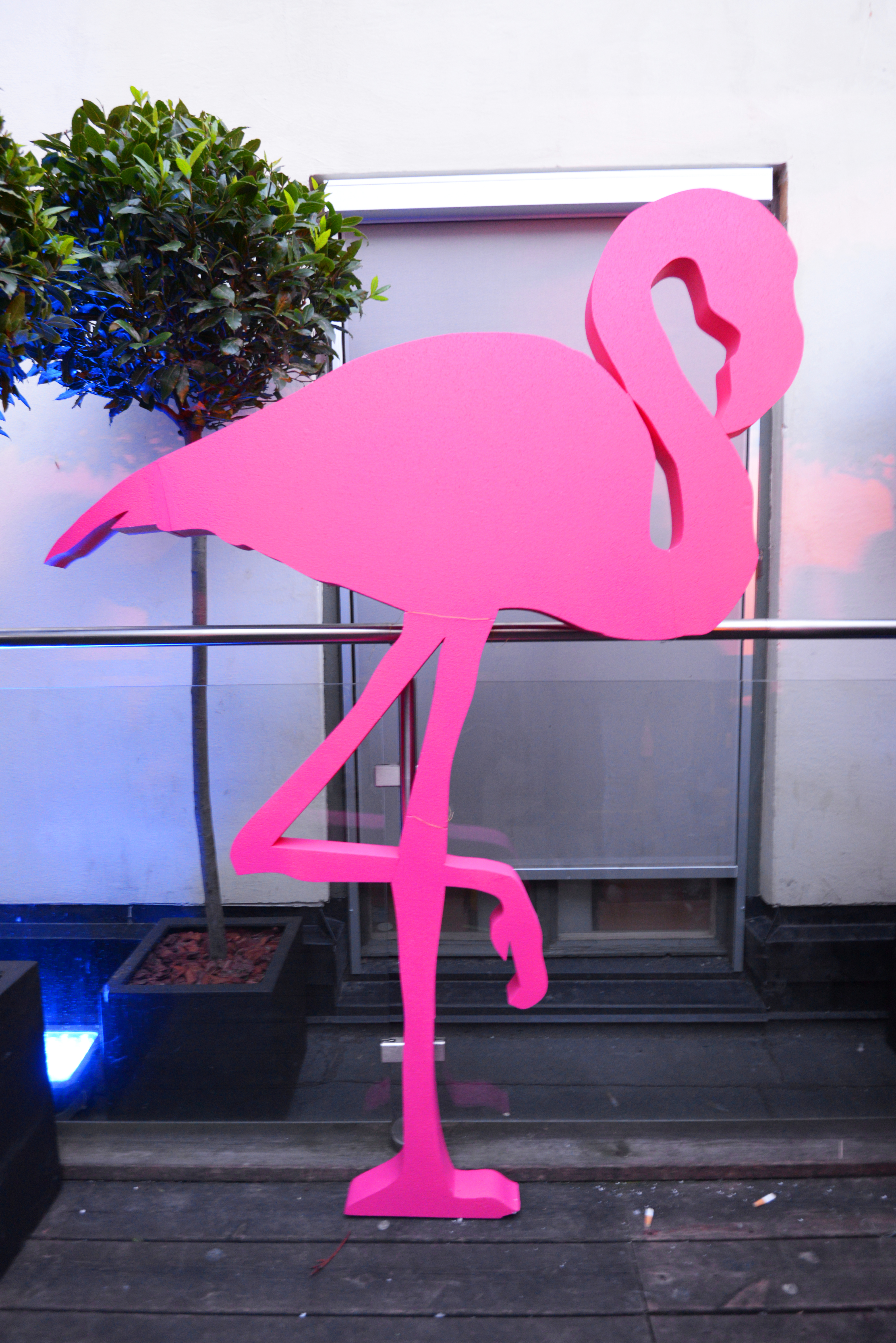 Miami Vice flamingo