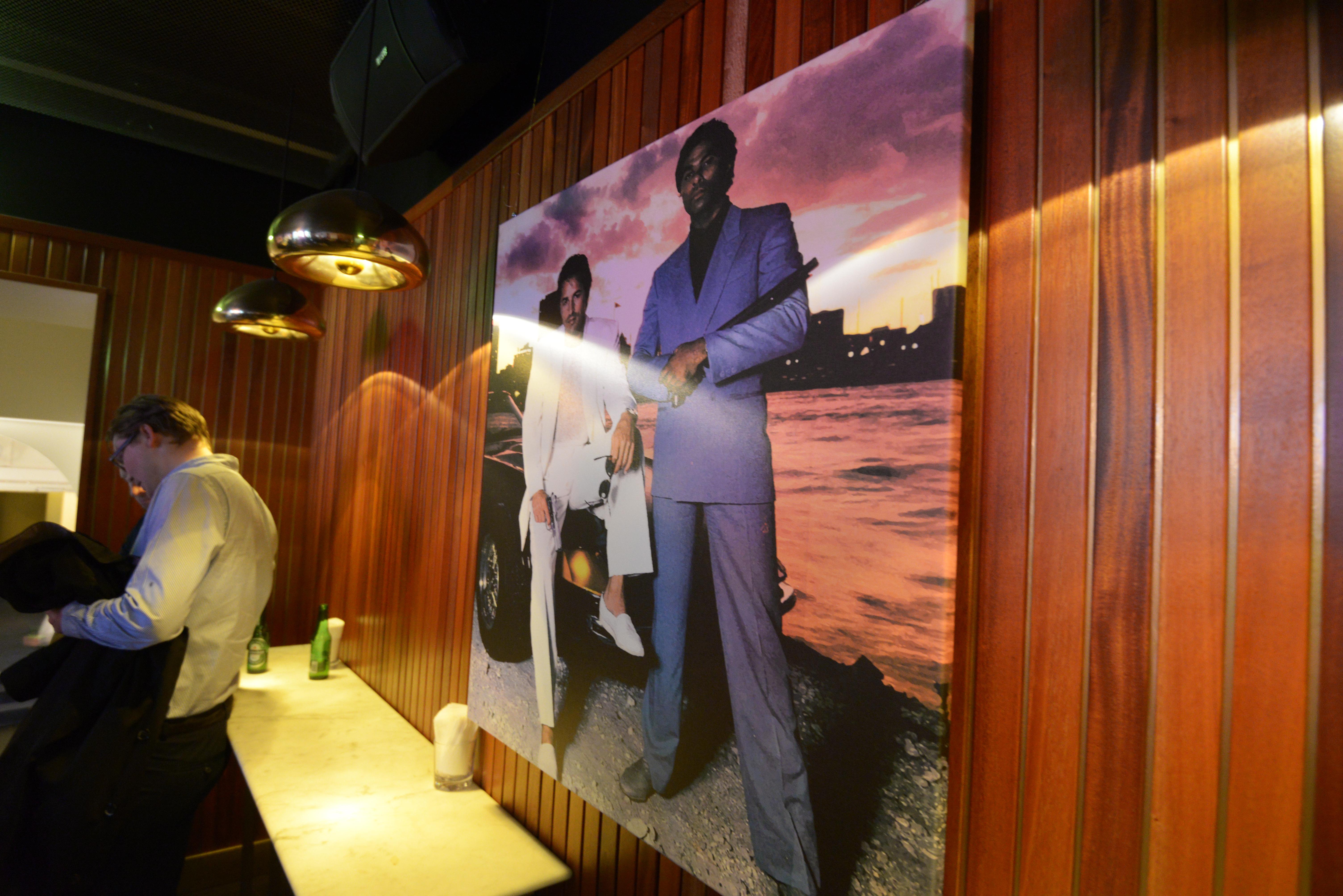 Miami Vice canvas
