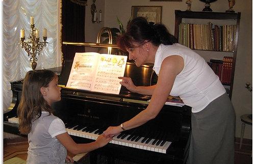 Piano Private Lesson at Home