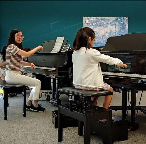 Individual Piano Lesson in Studio