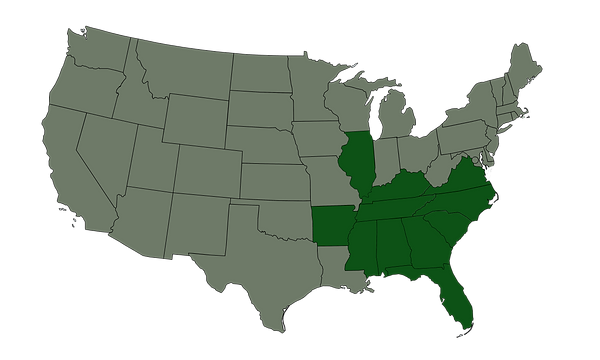 Wings Group License Map.png
