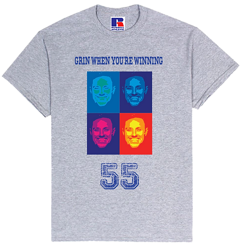 RANGERS 55 - BOYDY - GRIN WHEN YOU'RE WINNING T-SHIRT